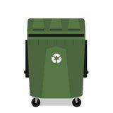 poubelle-a-roues-avec-reutiliser-le-symbole-vide-39459121